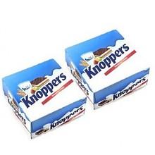 Knoppers 诺帕斯 榛子威化饼干 25g*24包*2套