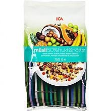 ICA 50%水果坚果果仁燕麦片 750g*3件