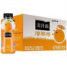 限华东:美汁源淳萃·橙 橙汁饮料350ml*12瓶