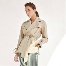 双11预售:Massimo Dutti 06723754710 女士风衣