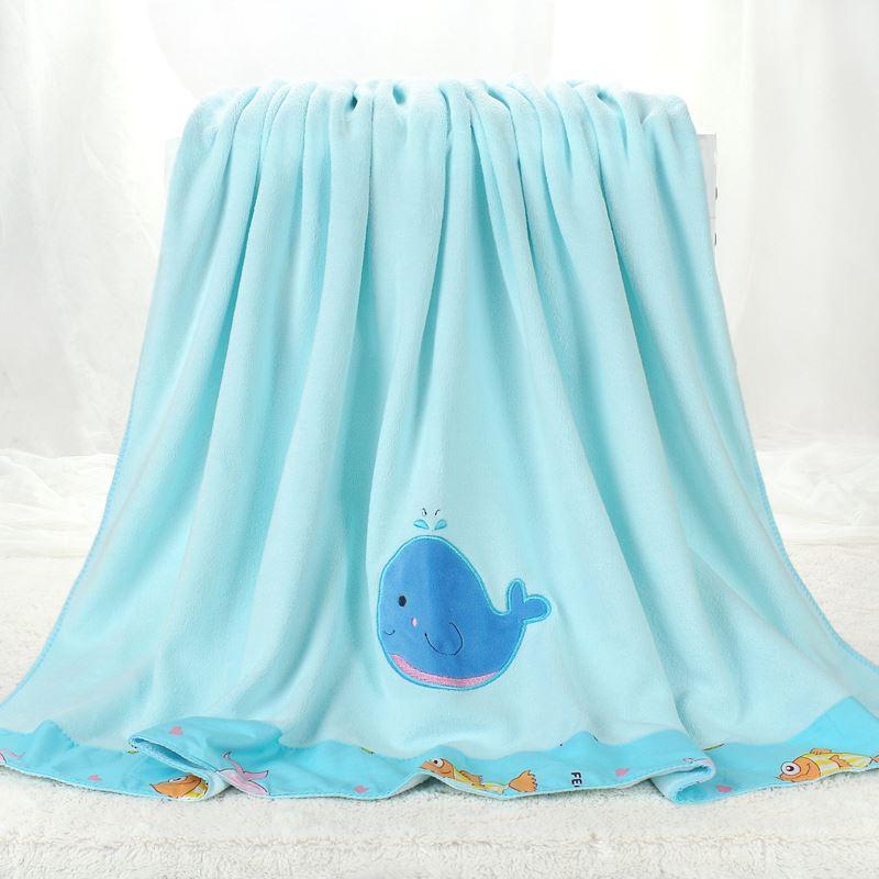 儿童浴巾盖毯大毛巾被