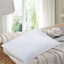 水星家纺助眠超柔枕芯白色 74*48CM