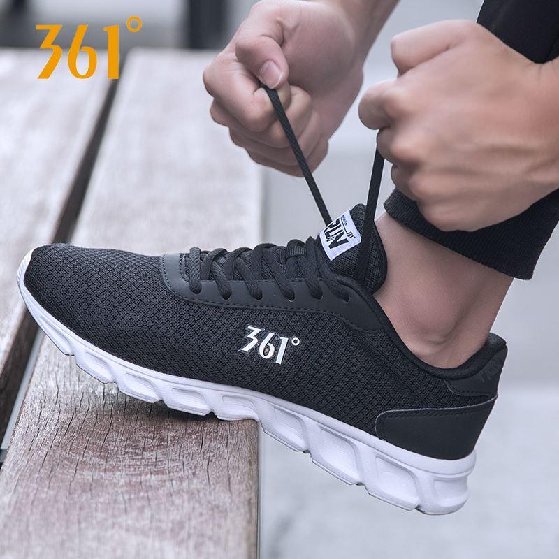 361度男士休闲跑步鞋