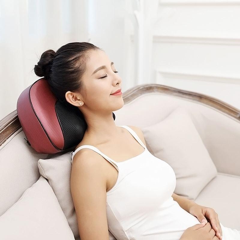 限今日:本博躺式全身红外加热按摩枕