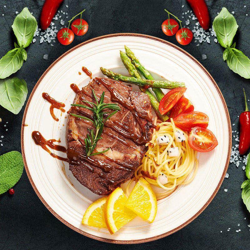 赤豪澳洲家庭牛排10片【送煎锅】