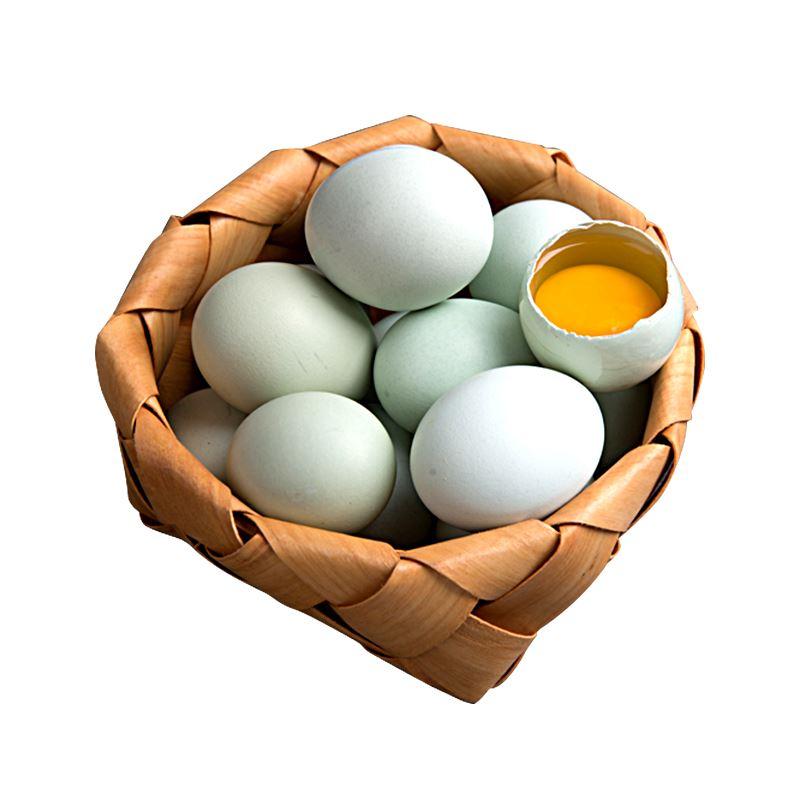 云贵高原散养绿壳土鸡蛋30枚