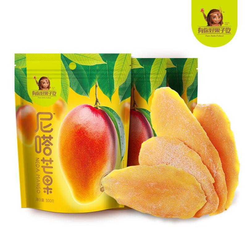 有你好果子吃芒果干100g*3袋