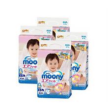 尤妮佳 婴儿纸尿裤 M64片 *4件