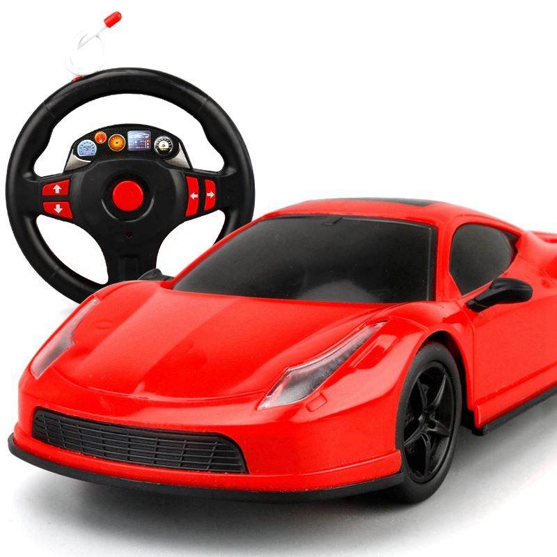 法拉利儿童遥控电动玩具跑车
