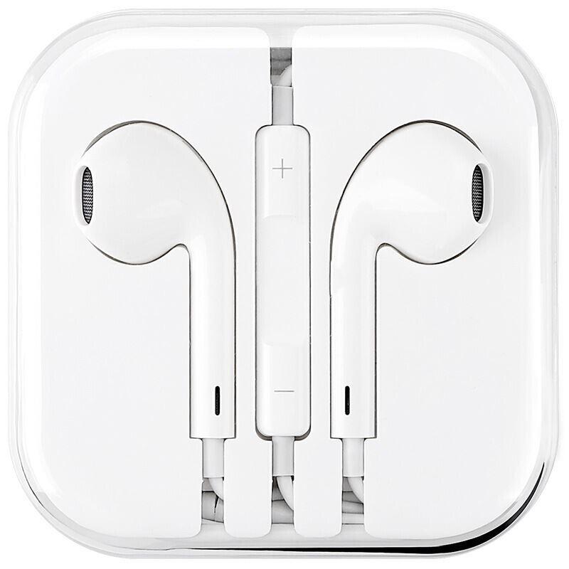入耳式线控苹果耳机