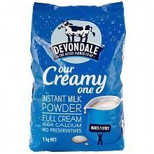 德运 全脂奶粉 1kg*2袋