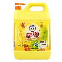 白猫 柠檬红茶洗洁精 5kg