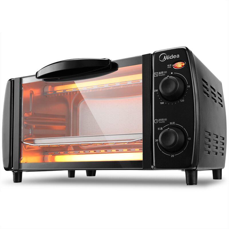 美的家用多功能电烤箱