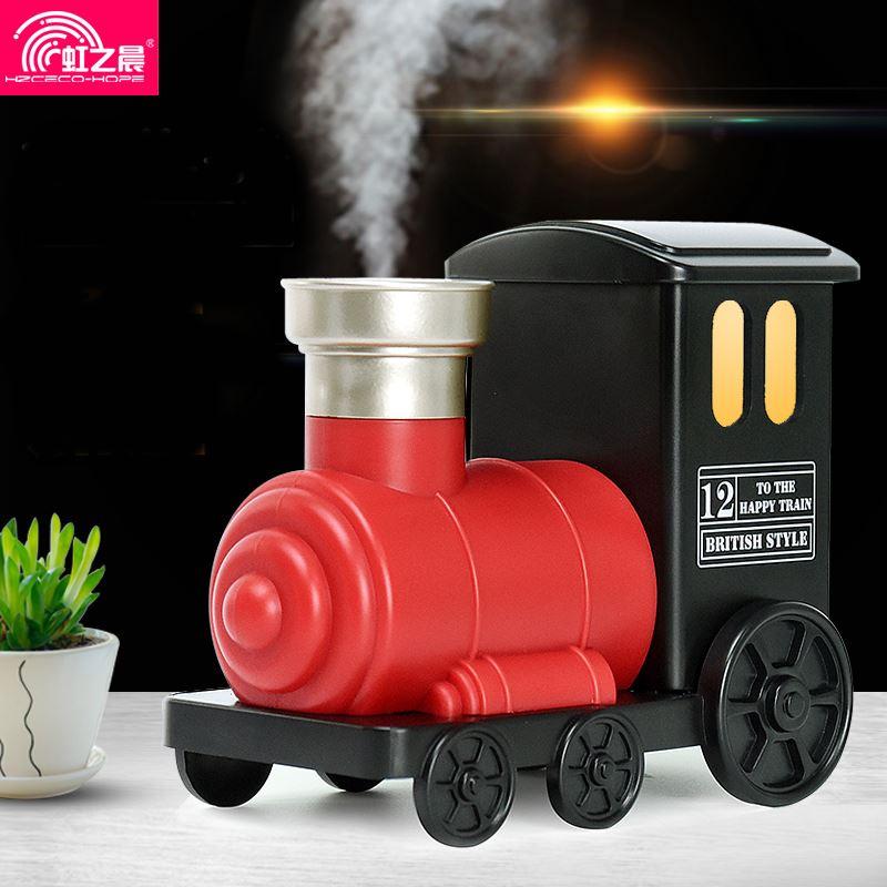 便携USB创意小火车迷你加湿器
