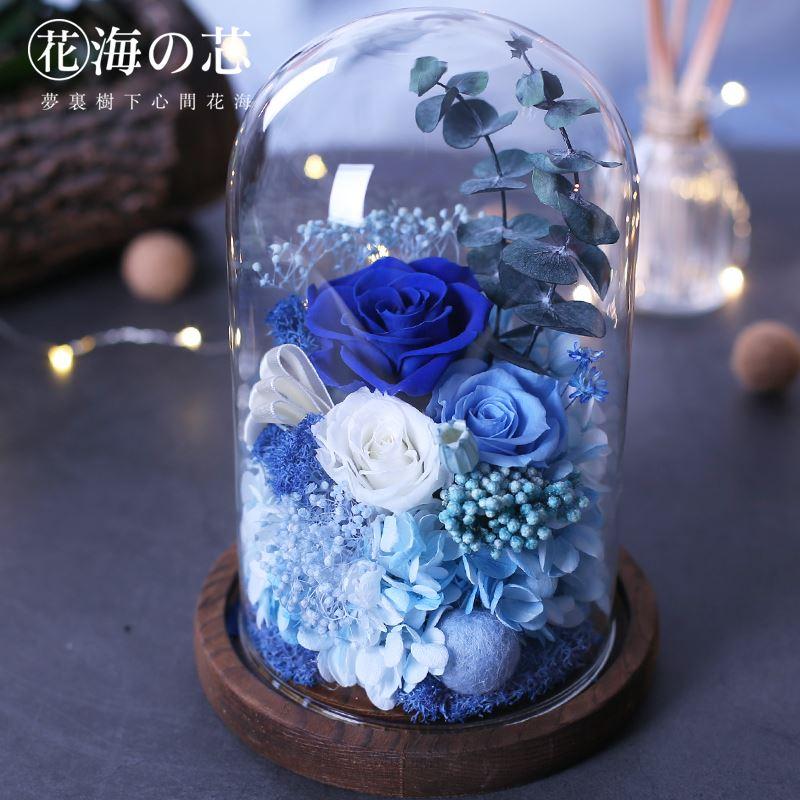 花海之芯永生花玫瑰花礼盒装