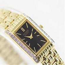 西铁城(CITIZEN)   女士镶施华洛世奇水晶时装腕表