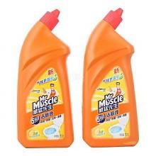 凑单品:威猛先生 5合1洁厕液(柠檬草香)750g*2瓶