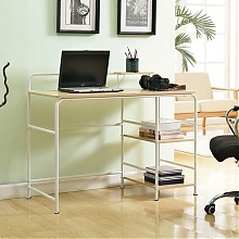 空间生活  格兰特简约实用办公桌 MTG10684-WH   119.5元(239元,下单5折)