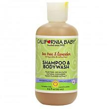 CALIFORNIA BABY 加州宝宝 薰衣草系列 婴幼儿洗发沐浴露2合1 251ml*2件