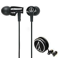 铁三角 ATH-CLR100 BK 入耳式耳机 黑色