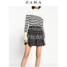 ZARA 女装小香风短裙 07883613800