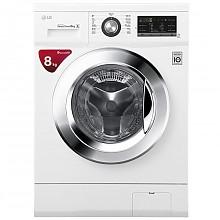 LG WD-TH455D0 8KG DD变频 滚筒洗衣机 转速1400 快速洗涤