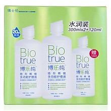 BAUSCH LOMB BioTrue 博士伦 博乐纯 隐形眼镜护理液 300ml*2瓶 120ml