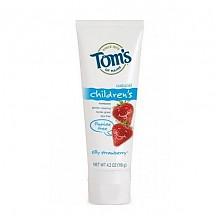 Tom's of Maine  儿童天然无氟牙膏 草莓味 119g*3支