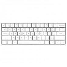 ikbc poker 升级版 机械键盘 茶轴 白色 60%布局