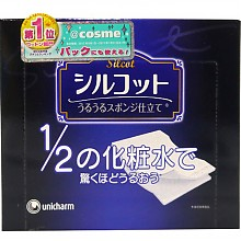 unicharm 尤妮佳 Silcot 省水薄款化妆棉 40片