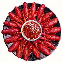 限地区:德炎水产 熟冻麻辣小龙虾 1kg*4件
