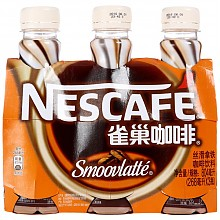 Nestle 雀巢咖啡  丝滑拿铁 瓶装 268ml*3联包