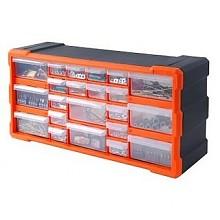 再补货:TACTIX 拓为 320632 22格抽屉式零件 整理盒