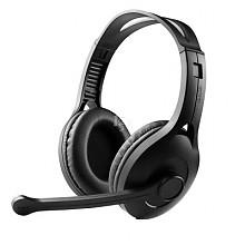 EDIFIER 漫步者 K800头戴式游戏语音耳机 黑色