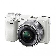 索尼 ILCE-6000L微单套机(16-50mm)白色4D对焦