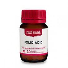 红印叶酸30粒