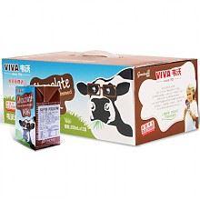 韦沃牛奶(巧克力口味)200ml*12盒