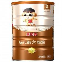 贝因美冠军宝贝奶粉3段奶粉1000克
