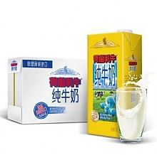 荷兰乳牛全脂纯牛奶1L*6盒