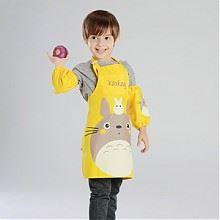 卡茜卡琦儿童系带防水大围裙