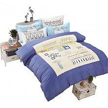 梦特娇床上用品四件套1.8米