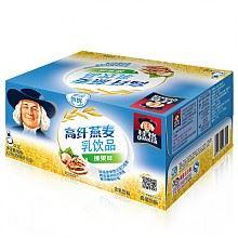 限地区:桂格高纤燕麦乳榛果味350毫升*12瓶