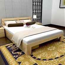 美梦居松木双人床1米*1.9米