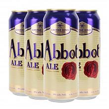 格林王主教麦芽啤酒500ml*4听装