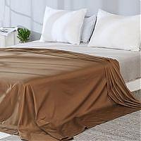 全棉贡缎纯色床单1.5米~1.8米床