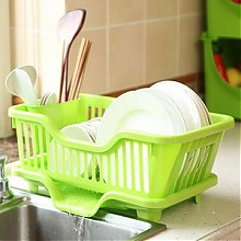 家英厨房碗筷塑料沥水架