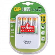 超霸GPKB01GW130-2L4 充电电池套装