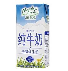 纽麦福 全脂牛奶 1L