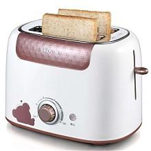 10点抢:小熊家用烤面包机咖啡色