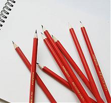 得力专业绘图铅笔12支装